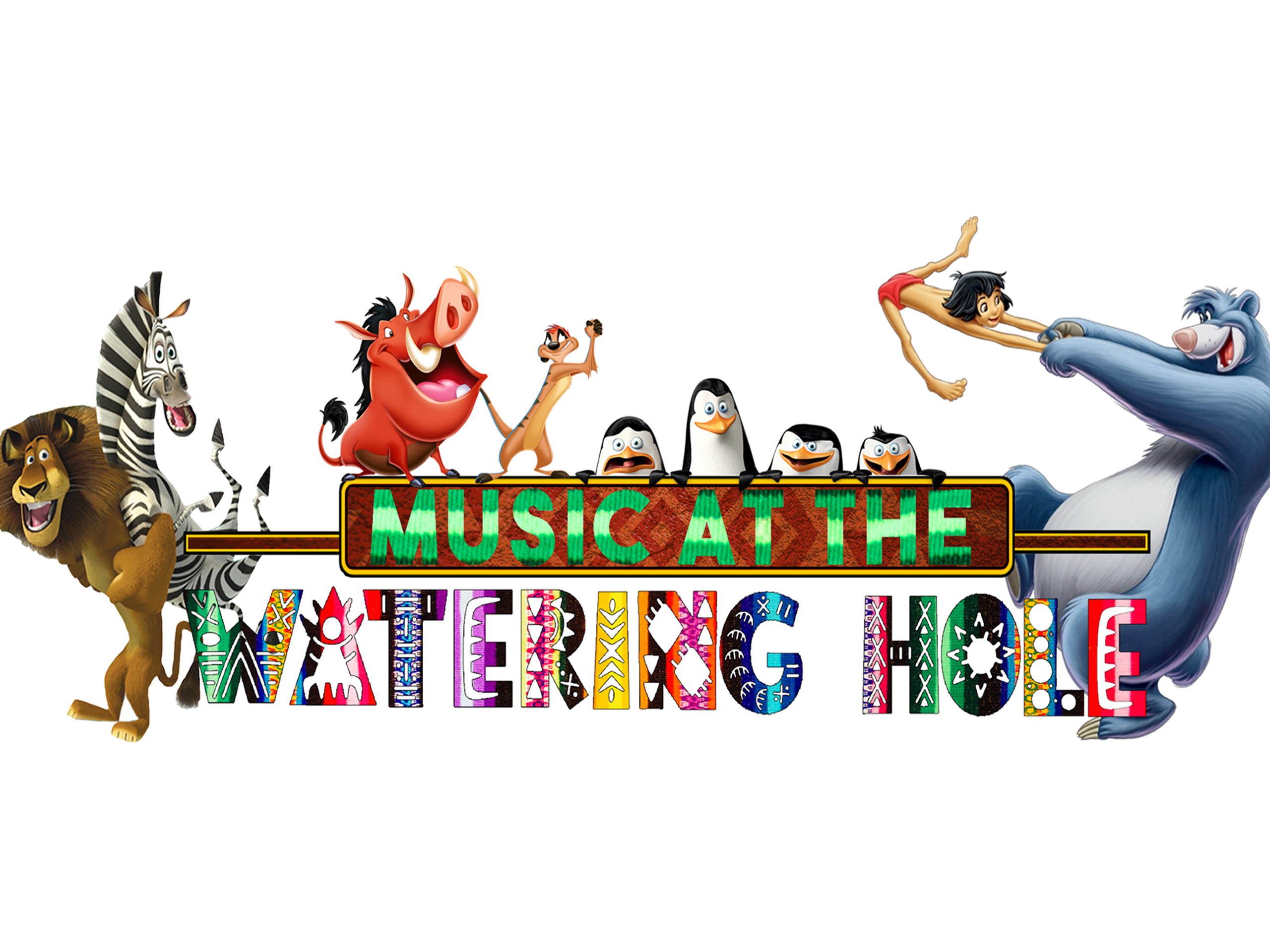 Book cover for for - Music at the Watering Hole